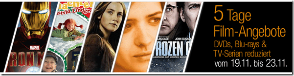 image thumb 5 Tage Film Angebote bei Amazon.de