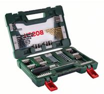 image Bosch V Line Titanium Bohrer  und Bit Set, 91 teilig (2607017195) für 29,99€