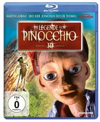 image Die Legende von Pinocchio [3D Blu ray] für 7,97€