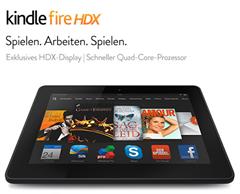"""image thumb Nur 2 Tage: 130 Euro Rabatt auf alle Kindle Fire HDX 7"""" Modelle"""