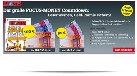 image 51 Ausgaben Focus Money für 88,70€ anstatt 188,70€