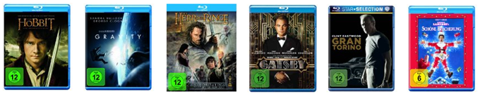 image thumb [Top] Amazon: 10 Blu rays für 50€ inklusive Versand