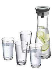 image ab 9 Uhr: WMF Wasserkaraffe Set 5 teilig Basic für 29,95€