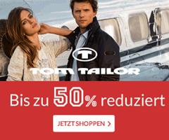 image Tom Tailor: Sale mit bis zu 50% Rabatt + 20% Extra Rabatt + keine Versandkosten