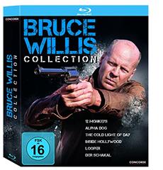 image Bruce Willis Collection [Blu ray–6 Filme] für 14,59€
