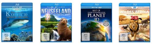 image Amazon: drei 3D Blu rays für 15€