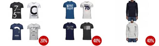 image132 30 % Extra Rabatt auf Jack & Jones bei Jeans direct.de