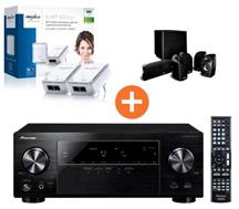 image134 Pioneer VSX 529 Receiver + Polk Audio TL 1600 5.1 Set + devolo dLAN 500 Duo für 499€