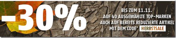 image138 SportScheck: 30% Extra Rabatt auf über 40 Marken