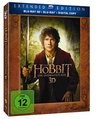 image175 Der Hobbit: Eine unerwartete Reise   Extended Edition 3D/2D (5 Discs) für 21,97€