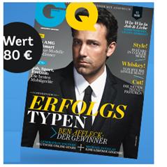 image186 Mirapodo: gratis GQ Jahresabo + 15€ Rabatt ab 99€ bestellwert oder 10€ Gutschein ab 39€