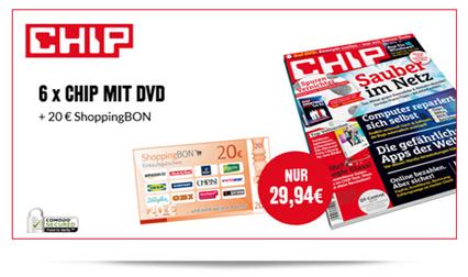 image229 6 x Chip mit DVD für 9,94€ anstatt 29,94€