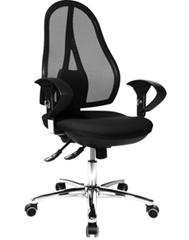 image25 Topstar Bürodrehstuhl inklusive höhenverstellbarer Armlehnen für 79,97€