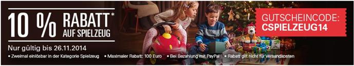 image259 eBay: 10% Rabatt auf Spielzeug bei Zahlung per PayPal