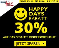 image264 Jeans Fritz: 30% Rabatt auf das gesamte Kindersortiment + 10% Newsletter Rabatt