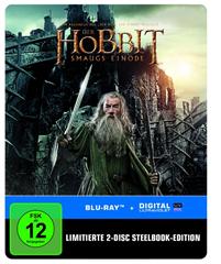 image316 Der Hobbit: Smaugs Einöde Steelbook (exklusiv bei Amazon.de) [Blu ray] [Limited Edition] für 9,97€