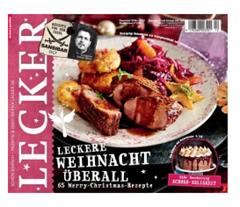"""Bild zu 14 Monate Zeitschrift """"Lecker"""" für 38€ + 30€ Prämie für den Werber"""