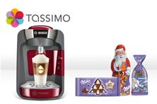 image354 TASSIMO Suny in versch. Farben inkl. 40€ Gutschein + Milka Schoko für je 44,99€