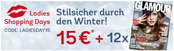 image360 Mirapodo: gratis Glamour Jahresabo + 15€ Rabatt ab 79€ Bestellwert