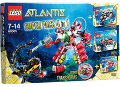 image382 LEGO 66365 Atlantis Superpack 4in1 ab 44,91€