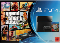 image387 Sony PlayStation 4 (500GB) + Grand Theft Auto 5 (GTA 5) für 379€