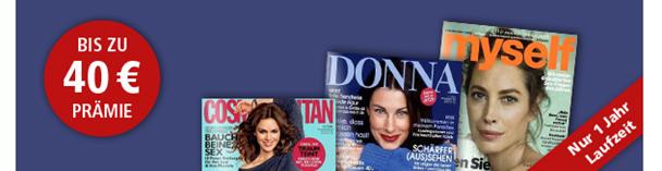 image39 Frauenzeitschriften vergünstigt, so z.B. Cosmopolitan Jahresabo für 31€ inkl. 35€ Meinpaket.de Gutschein