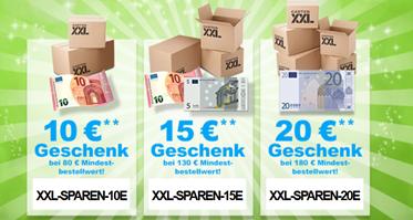 image396 GartenXXL: bis zu 20€ Rabatt auf alles (nach Bestellwert gestaffelt)