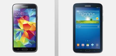 image49 Base all in classic (Sprach  und SMS Flat in alle Netze, 500MB Datenflat, Festnetznummer gratis) inkl. Samsung S5 + Tab 3 ab 27€/Monat