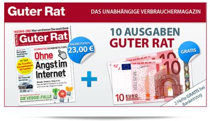"""image67 [Top] 12 x Zeitschrift """"Guter Rat"""" für 3€ anstatt 27,60€"""