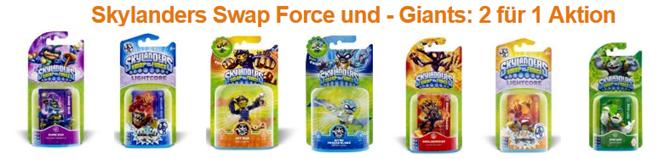 image84 Skylanders Swap Force und Giants: 2 für 1 Aktion