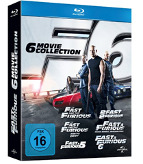 image90 Fast & Furious 1 6 [Blu ray] für 27,97€ inklusive Versand