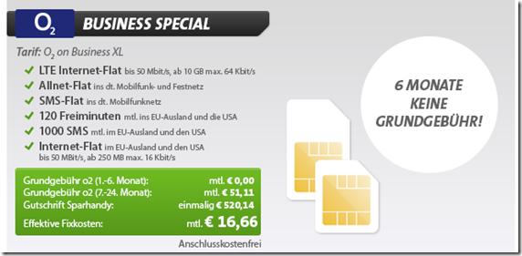image thumb45 o2 Business (10GB Datenflat, Sprach  + SMS Flat alle Netze, 120 Minuten + 1000 SMS + Datenflat  im EU Ausland usw.) für 16,66€/Monat