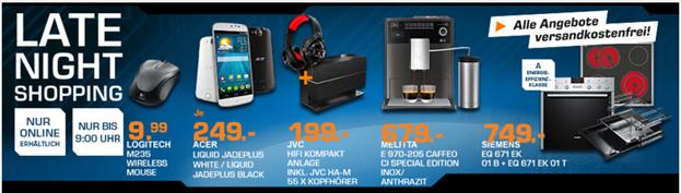 image thumb95 Saturn Late Night Shopping Angebote, z.B. JVC NX W5BE + JVC HA M 55X Kopfhörer für 199€ (Vergleich: 303,46€)
