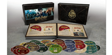 Bild zu [Ausverkauft] Harry Potter Hogwarts Collection (1-7.2) – (31 Blu-rays) ab 44€
