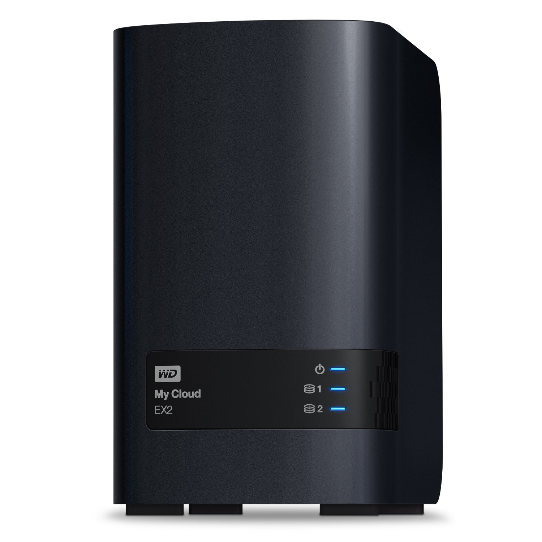 Bild zu ab 9Uhr: 2-Bay Gigabit NAS WD My Cloud EX2 (4TB) für 299€ inkl. Versand