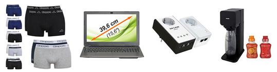 Bild zu Die restlichen eBay WOW Angebote in der Übersicht, z.B. TP-LINK AV500 TL-WPA4230P Powerline KIT für 69,90€