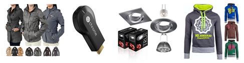 Bild zu Die restlichen eBay WOW Angebote in der Übersicht, z.B. Google Chromecast Streaming Stick HDMI für 29,90€