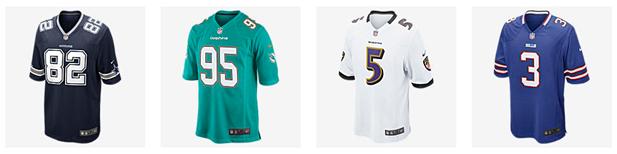 Bild zu Nike.com: 50% Rabatt auf ausgewählte Trikots der NFL