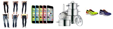 Bild zu Die restlichen eBay WOW Angebote in der Übersicht, z.B. Apple iPhone 5C 8GB LTE Premium für 299,90€