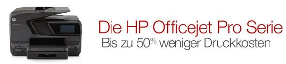 Bild zu Vier HP Officejet Pro Multifunktionsdrucker zum Bestpreis