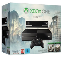 Bild zu [Knaller] Xbox One Konsole inklusive Kinect + Assassin's Creed Black Flag + Assassin's Creed Unity für 359€