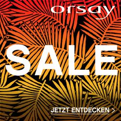 Bild zu Orsay: Sale mit bis zu 50% Rabatt oder 20% Rabatt auf alle regulären Artikel