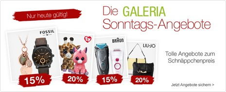 Bild zu Galeria Kaufhof Sonntags-Angebote, z.B. 20% Rabatt auf alle Schulartikel von Scout + 10€ Rabatt (ab 79€ MBW)