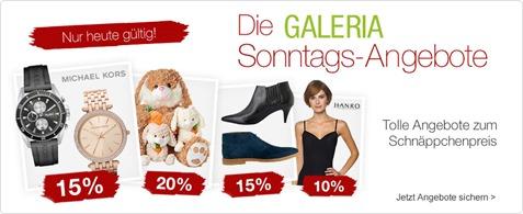 Bild zu Galeria Kaufhof Sonntags-Angebote, z.B. 20% Rabatt auf ESPRIT Bettwäsche