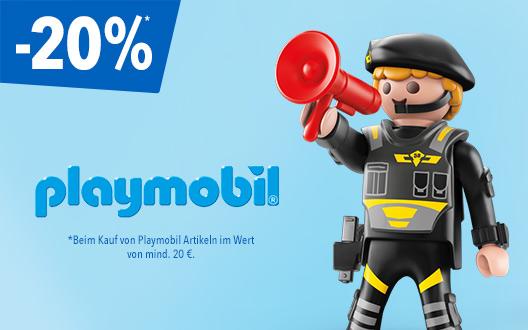 Bild zu Toys'R'us: 20% Rabatt auf alle Playmobil-Artikel