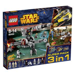 Bild zu Lego Star Wars 3-in-1 Super-Pack (66495) für 44,90€ inkl. Versand