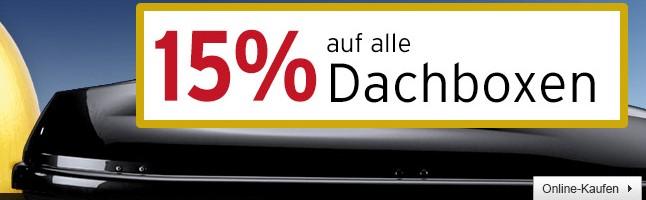 Bild zu A.T.U: 15% Rabatt auf alle Dachboxen
