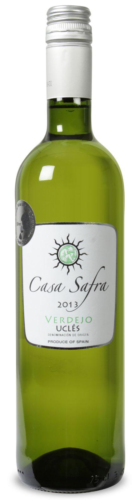 Bild zu 6 Flaschen Casa Safra Verdejo Uclés DO 2013 für 23,94€ inkl. Versand