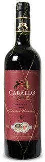 Bild zu 12 Flaschen Rotwein Caballo d'Oro Tempranillo Reserva Valdepeñas für 31,78€ inkl. Versand