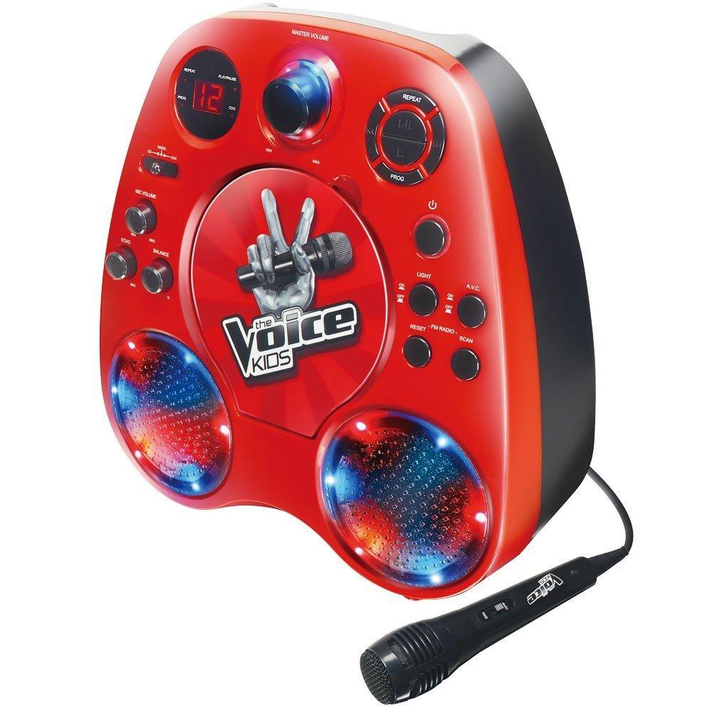Bild zu Karaoke CD-Player The Voice (SEG KP1204) für 29,99€ inkl. Versand